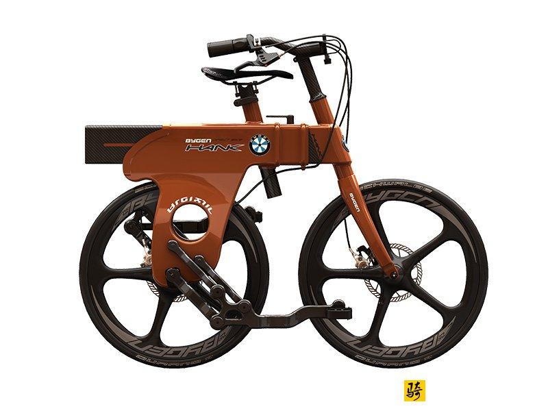 没有链条的智能自行车