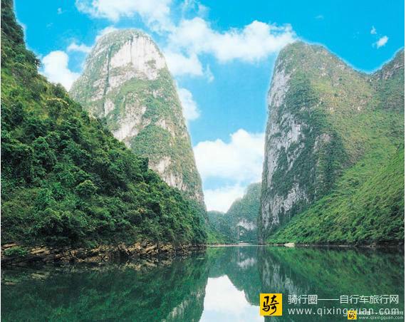 河池六甲镇龙江小三峡风景区