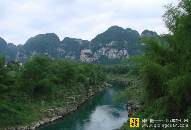 河池六甲镇龙江小三峡风景区在哪儿